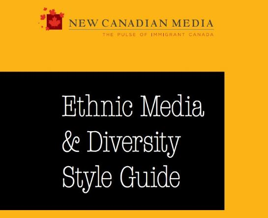 Ethnic media and diversity style guide